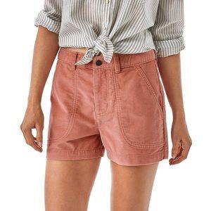 [Patagonia] Pink Corduroy Stand Up Shorts